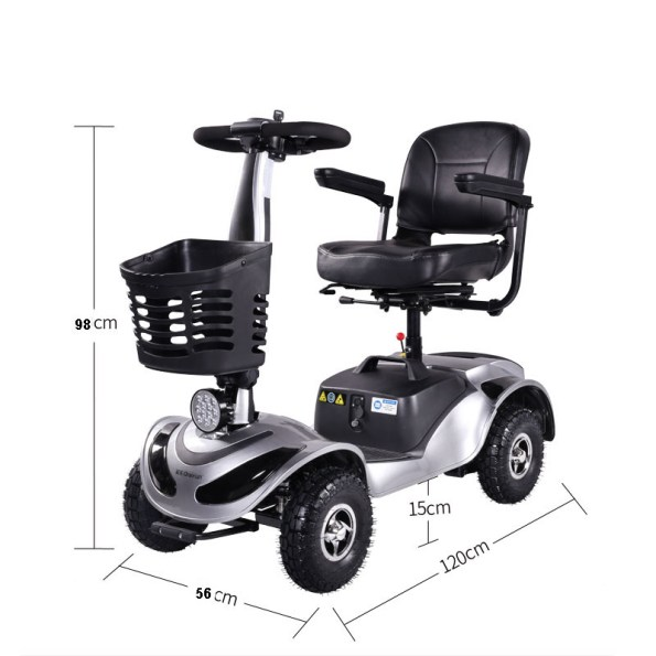 FORCA TBY 3500 MOBILITÄTS SCOOTER 4 RAD - Forca MobilityScooter Mobilitätsfahrzeug Sensiorenfahrzeug Seniorenmobil