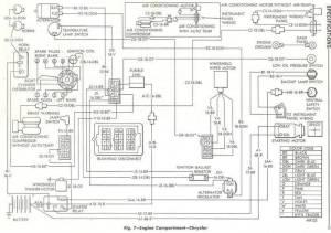 68 Chrysler 300 Engine and headlight motor wiring diagram