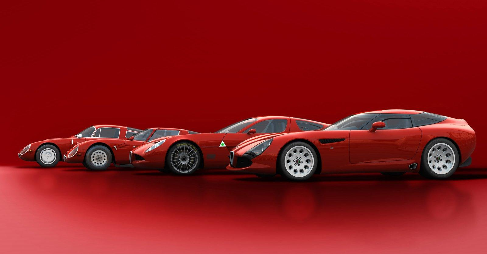 Alfa Romeo Cars News TZ3 Stradale Opens Its Lungs Video