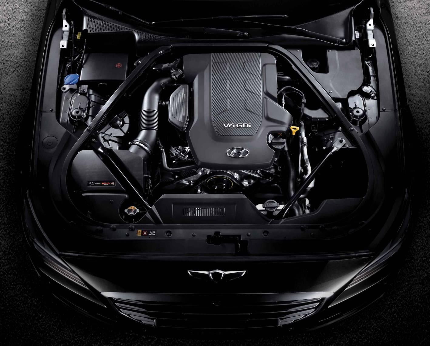 2014 Hyundai Genesis Sedan V6 Engine