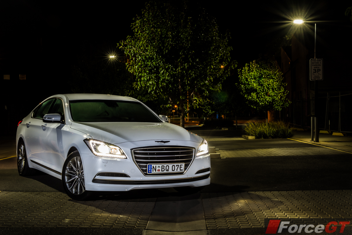 Hyundai Genesis Review 2015 Hyundai Genesis Sedan