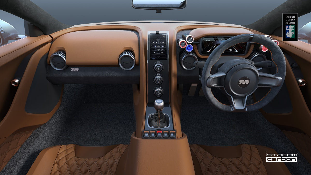 Tvr Unveils V8 Powered Carbon Composite Griffith Sports