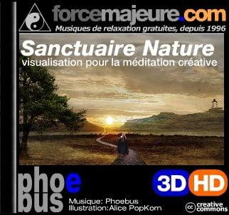 Sanctuaire Nature mp3 visualisation gratuit