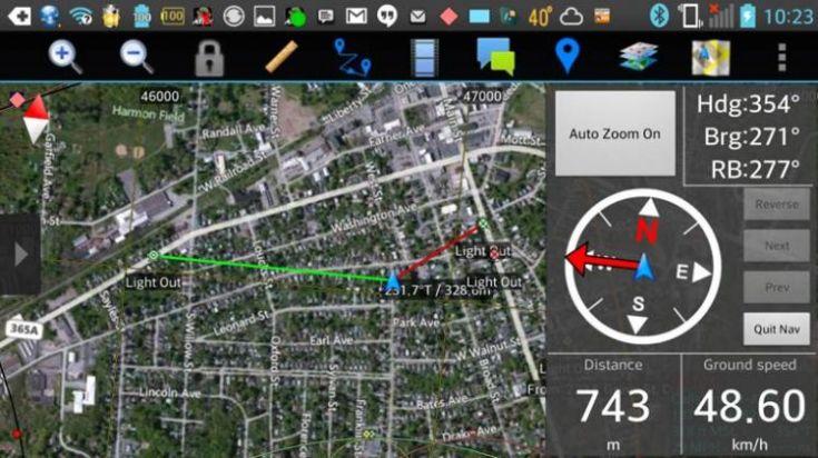 ATAK screenshot