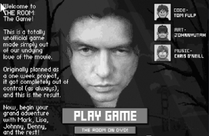 "THANK YOU! THANK YOU! THANK YOU! The Fantastically Horrible Movie ""The Room"" Is Now Available As A Flash Game"