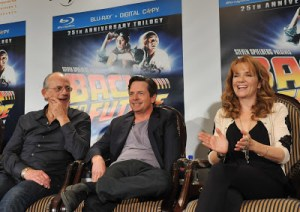Marty, Doc and Lorraine Reunite For BTTF DVD Release!