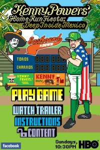 FREE DOWNLOAD OF KENNY POWERS HOME RUN FIESTA ON iTUNES!