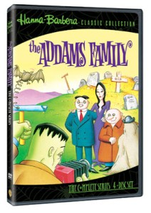 THE ADDAMS FAMILY: THE COMPLETE ANIMATED SERIES(dvd review)