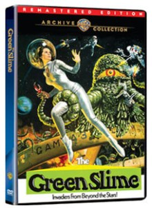 THE GREEN SLIME (dvd review)