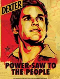 CONTEST!!!  Win a Shepard Fairey DEXTER Poster And First Look At The Season Finale!