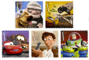 HERE'S A REASON TO LICK AN ENVELOPE THIS COMING YEAR…Pixar Stamps.