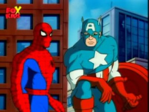 First Looks!  Andrew Garfield as SPIDER-MAN and Chris Evans as CAPTAIN AMERICA