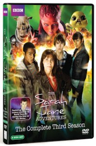 CONTEST!!!  Win THE SARAH JANE ADVENTURES The Complete Third Season!!!