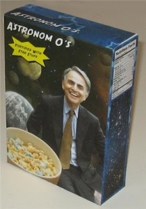IF ONLY THIS WAS REAL…The Carl Sagan's Astronom O's Cereal