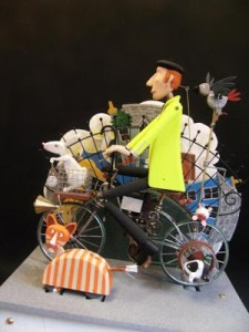 BRIAN'S BRILLIANT BIKE AUTOMATON By Artist Extraordinaire Keith Newstead Is Something Wondrous to Behold.