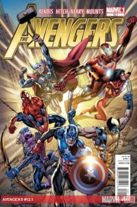 Marvel releases a preview of AVENGERS 12.1