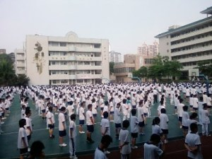 700 CHINESE STUDENTS DANCE TO MICHAEL JACKSON'S 'DANGEROUS' And None of Them Look All That Happy About It