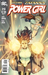 DC releases previews for POWER GIRL #23