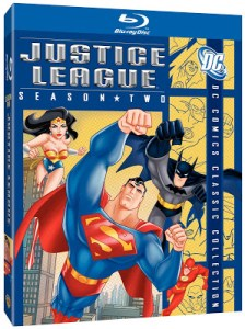 JUSTICE LEAGUE SEASON TWO Comes To Blu-ray