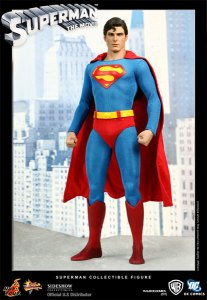 BUY ME TOYS!  The 12″ CHRISTOPHER REEVE SUPERMAN FIGURE is, well, super…