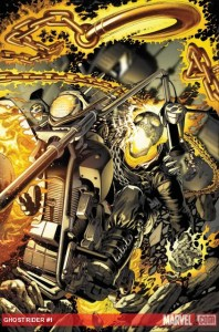 Marvel's GHOST RIDER #0.1 looks hot (see what I did there)!