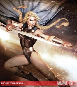 Check out Scot Eaton's pencils for Marvel's SECRET AVENGERS #14