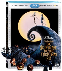 Tim Burton's THE NIGHTMARE BEFORE CHRISTMAS Arrives on 3D Blu-ray in New Release