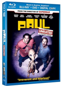 PAUL Starring Simon Pegg and Nick Frost Arrives on DVD, Blu and Digital Download This August