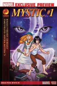 Marvel goes MYSTIC – previews!