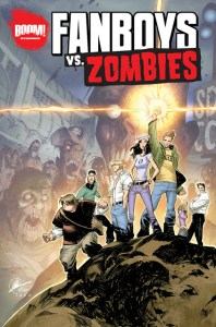 BOOM! Announces FANBOYS VS. ZOMBIES