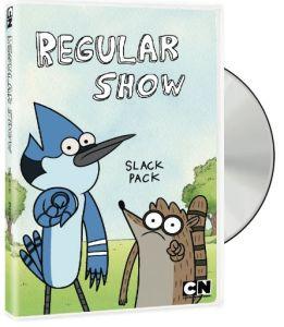 REGULAR SHOW Gets a Slack Pack!