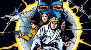 STAR WARS and Other Licensed Comics Headline BACK ISSUE #55