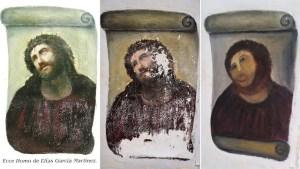 JESUS DEFENDS HIS SPANISH Restoration Portrait