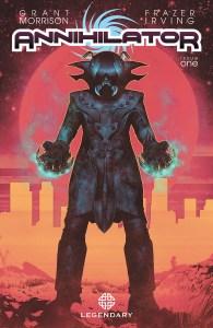 Legendary Comics Releases Frazer Irving's Cover Art For Grant Morrison's 'ANNIHILATOR'
