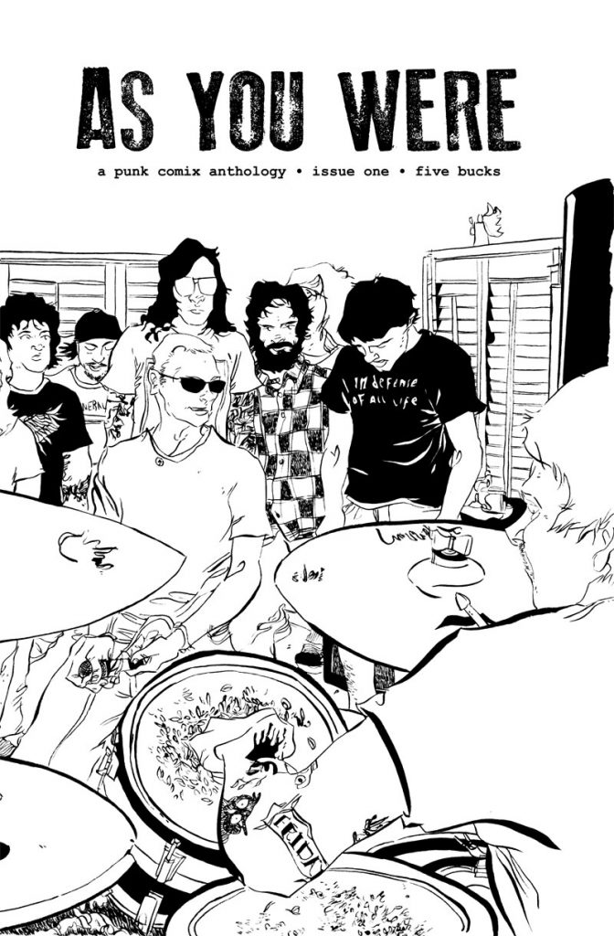 "Image result for As You Were ""Issue #1"" (compiled by Mitch Clem) zine"