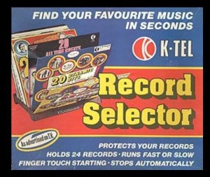THROWBACK THURSDAY: The K-Tel Record Selector, Incredibly Stupid But Strangely Hypnotic