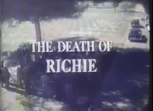 'The Death of Richie': MY FAVORITE ANTI-DRUG FILM (That Kinda Made Me Want to Do Drugs)