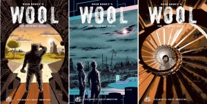 Darwyn Cooke Covers Hugh Howey's WOOL: THE GRAPHIC NOVEL #1-3
