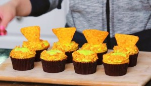 GAMER SNACKS: Mountain Dew & Doritos Cupcakes…Bringing A Stereotype Together In A Delicious Way