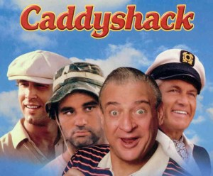 The Most Awkward Interview Ever: Promoting CADDYSHACK With Bill, Ted, Rodney and Chevy