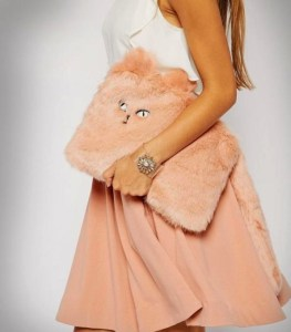 A Furry Cat Clutch For Fancy Parties? Yes Please!