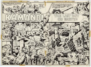 KAMANDI IS COMING!  The Jack Kirby Artist's Edition Library From IDW Adds Essential Series