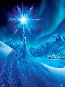 """Let It Go"" Right on Your Wall: FROZEN: THE POSTER COLLECTION is Coming"