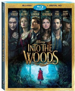 Disney's INTO THE WOODS on Blu-ray Combo Pack, Digital HD & DMA March 24th