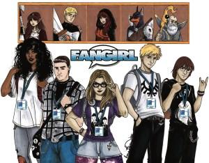 Kickstart This!  Spinner Rack Comics' FANGIRL