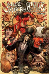TIM SEELEY Pens The Godfather Of Shock Rock as ALICE COOPER Faces EVIL ERNIE and CHAOS!