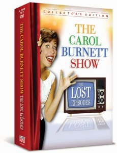 Win THE CAROL BURNETT SHOW: THE LOST EPISODES on DVD!