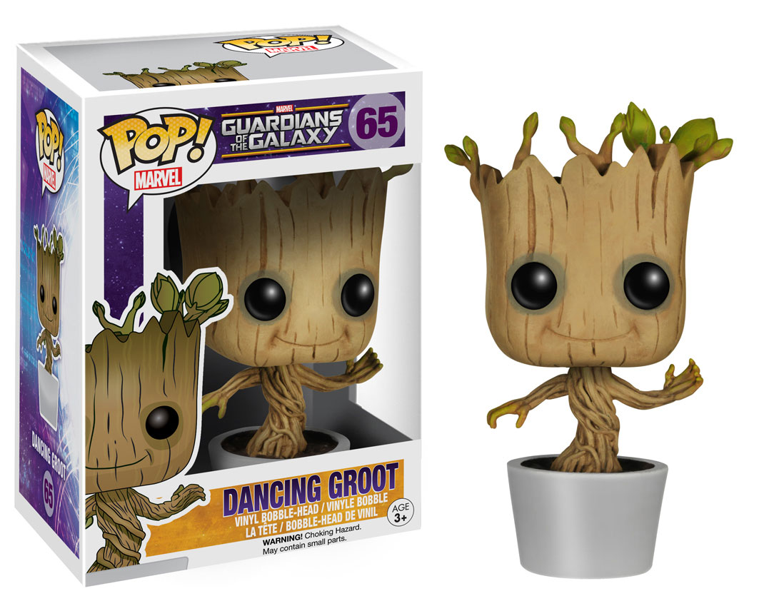 Dancing-Groot-Pop!-Bobblehead