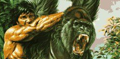 'King Kong vs. Tarzan'  Pits The 8th Wonder of The World Versus The Lord of The Jungle