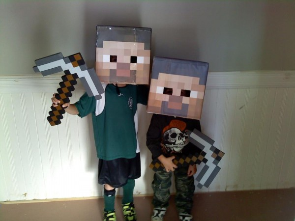 minecraftsteve & Video Game Inspired Halloween Costumes | Forces of Geek